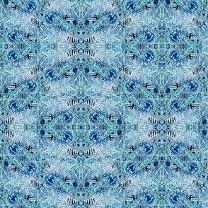 Mystic Pine Cones Blue