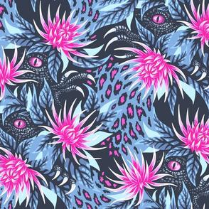 Hidden Creatures - Pink / Grey