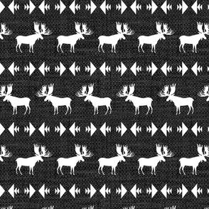 Moose Migration - dark grey