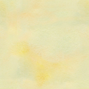 yellow watercolor wash