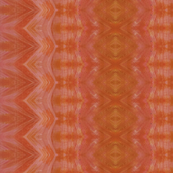 Pink and Orange Geometric Design