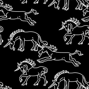 Chalkboard Unicorns