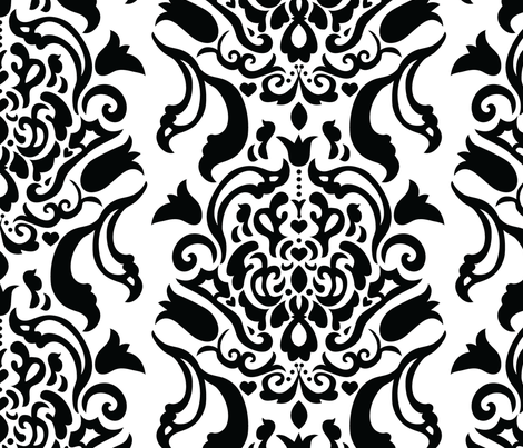 jlabre-largescaledamask fabric by jenniferlabre on Spoonflower - custom fabric