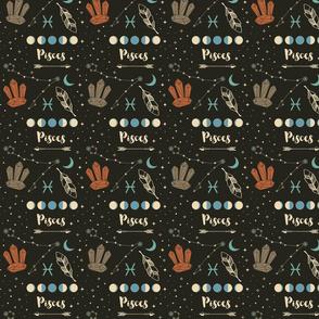 Pisces Zodiac Sign Pattern