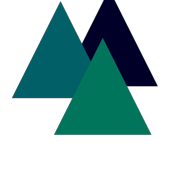 Mountains Modern Geometric