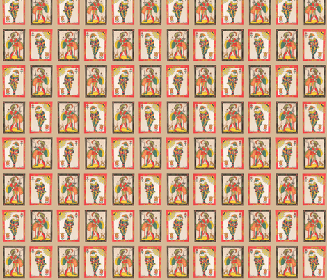 Festive Jesters fabric by marie-clare on Spoonflower - custom fabric