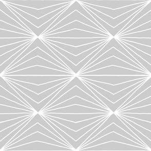 Geometric lines on grey