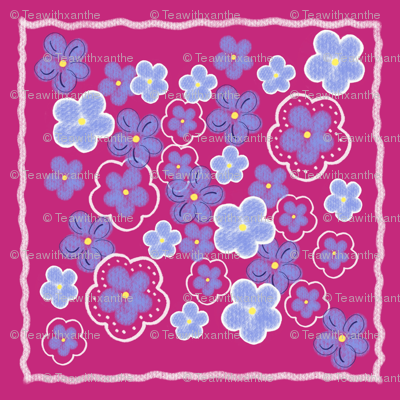 Forget Me Not_Quilt