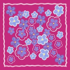 Forget me not Quilt