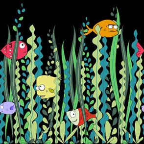 Funny Fish border