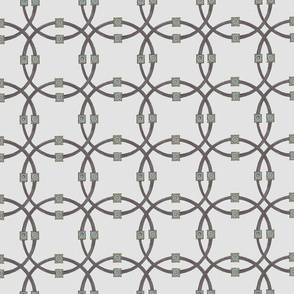 Taupe dble circles