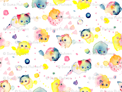 swatch-textile-cat-pink-yellow