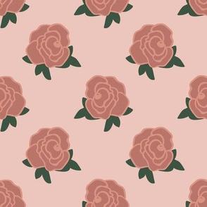 Rose Florals 01 (Powder Pink)