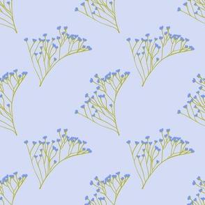 Wispy Florals (Lavender)