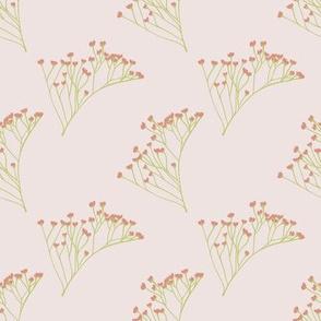 Wispy Florals (Soft Pink)