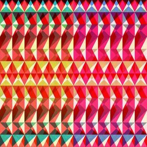 Holiday Diamond Stripe
