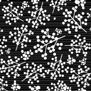 Farmhouse Twigs - Black & White