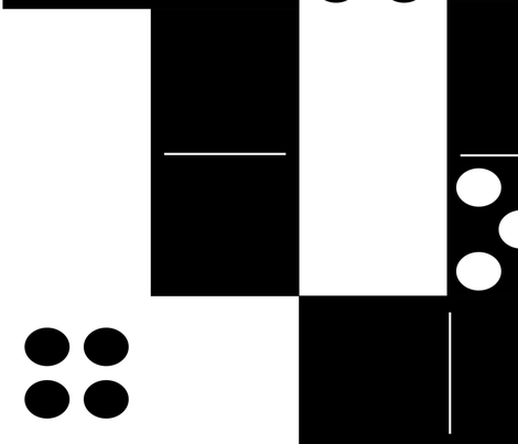 Domino Effect fabric by babyancestree on Spoonflower - custom fabric