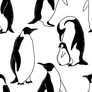 penguins large scale