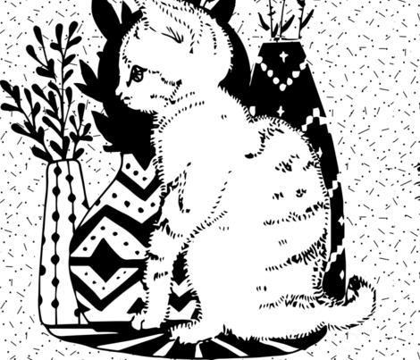 gattino dotts fabric by potyautas on Spoonflower - custom fabric