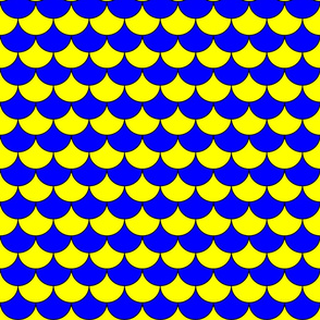 Pappelony Blue and Yellow