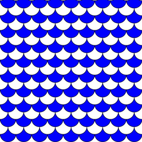 Pappelony Blue and White