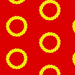 Annulet on Red