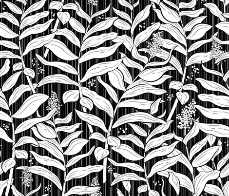 Coastal Fern fabric by sarah_treu on Spoonflower - custom fabric