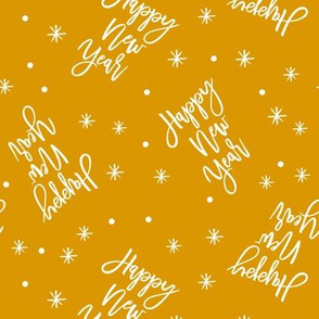 Happy New Year - Script gold