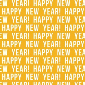 Happy New Year - gold