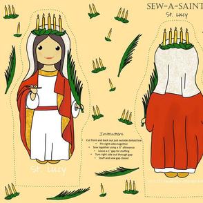 Sew-a-Saint: Saint Lucy / Saint Lucia