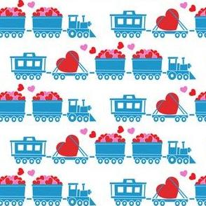 Love train - blue