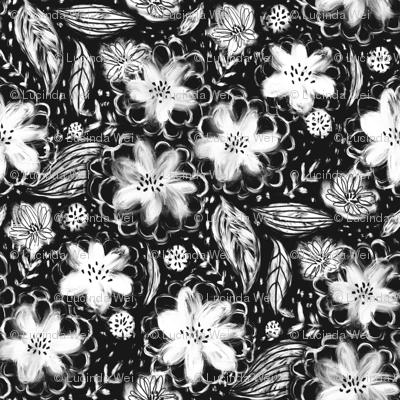 Block Print Florals - © Lucinda Wei