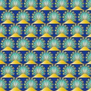 Buttercup Mandalas Art Nouveau