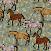 Rrelegant_horses_in_fairy_field_in_blue_and_gold_rev_shop_thumb