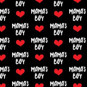 mama's boy - black