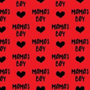 mama's boy - red