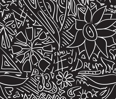 Random Doodles fabric by whyitsme_design on Spoonflower - custom fabric
