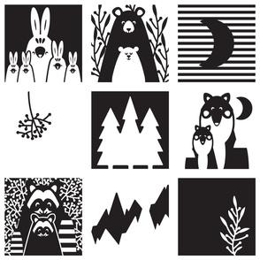 Scandinavian Forest Animals