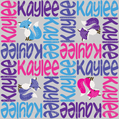 personalised name design - 4way with pic