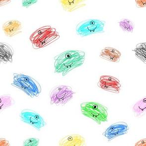 Messy_Scribble_Monsters