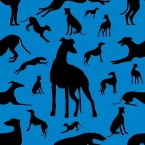 Greyt_Greyhound_Silhouettes_on_Blue