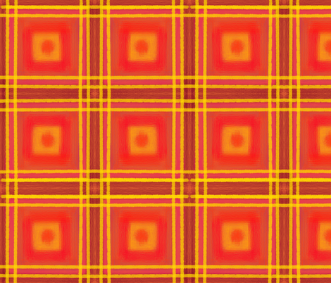 pink plaid 7 fabric by palusalu on Spoonflower - custom fabric