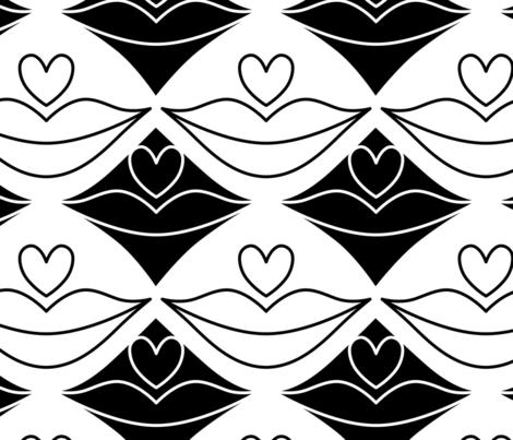 Liptastic fabric by pinkdeer on Spoonflower - custom fabric