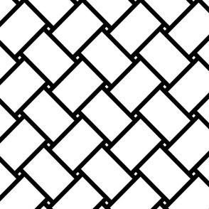 geometric plaited pattern (large scale)