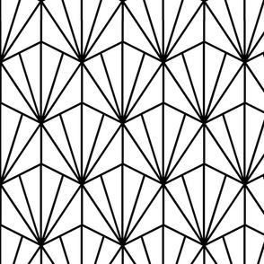 geometric art deco pattern (large scale)