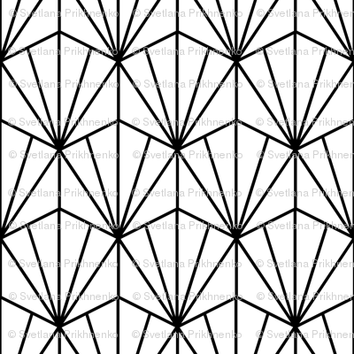 geometric art deco pattern (small scale)
