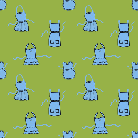 Apron Cupboard   Forager's Brights fabric by lochnestfarm on Spoonflower - custom fabric