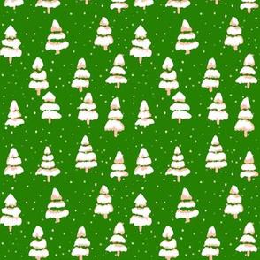 folk tree - green
