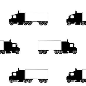TruckerBanWSilo18X18